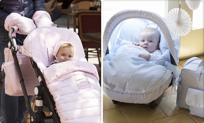 Cochecitos de beb a la moda todo lo que necesitas para ir de paseo este invierno - Sacos silla bebe invierno ...